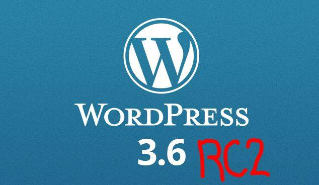 wordpress 3.6 RC2 beta