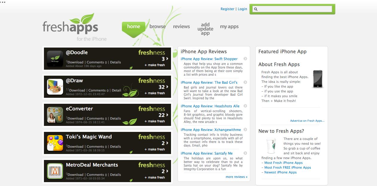 Webs famosas desarrolladas con WordPress - freshapps