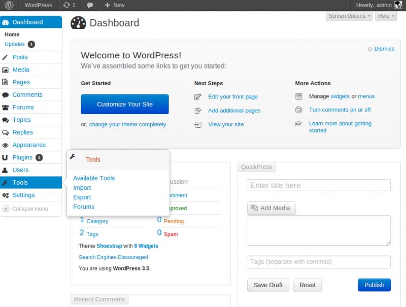 Las mejores 5 plantillas para el admin de WordPress