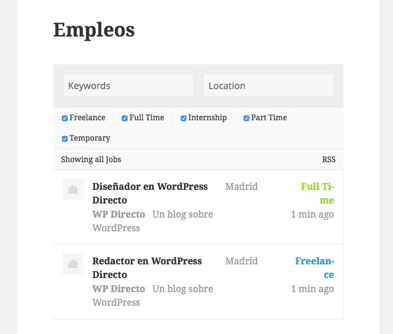 Cómo crear una web de empleo con WordPress