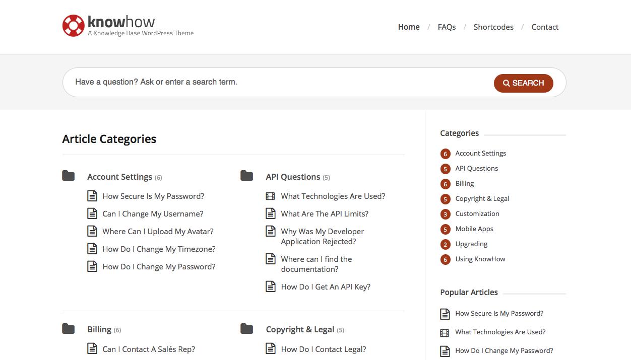 crear una wiki - Plantilla knowhow