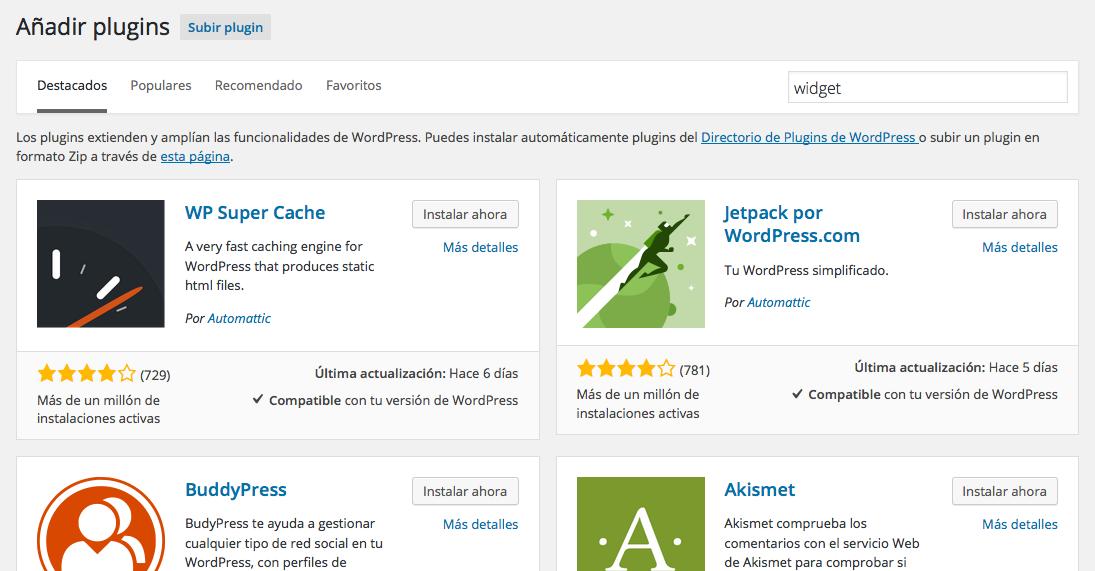 plugins de GitHub - Instalar plugin