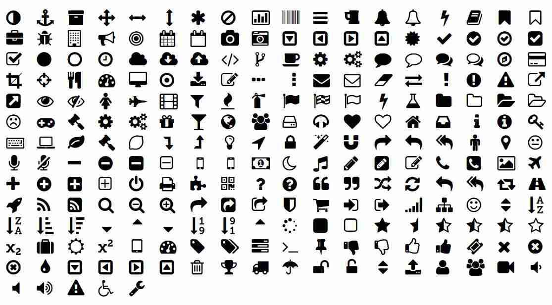 fuente de iconos - FontAwesome