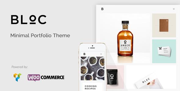 plantillas minimalistas - Bloc