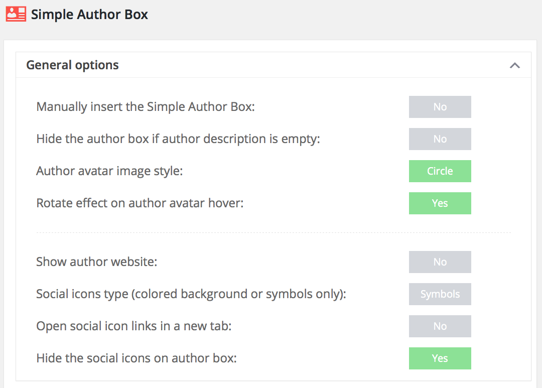 información sobre el autor - Simple Author Box
