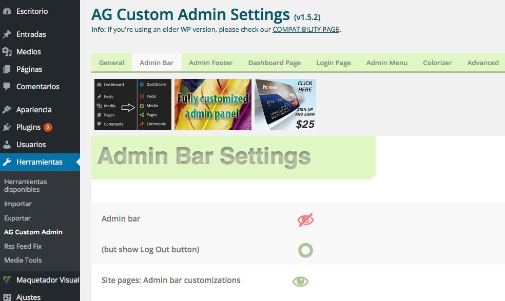 10 pasos para conseguir un admin profesional en WP (I)