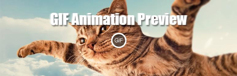 GIFs animados en WordPress - GIF Animation Preview