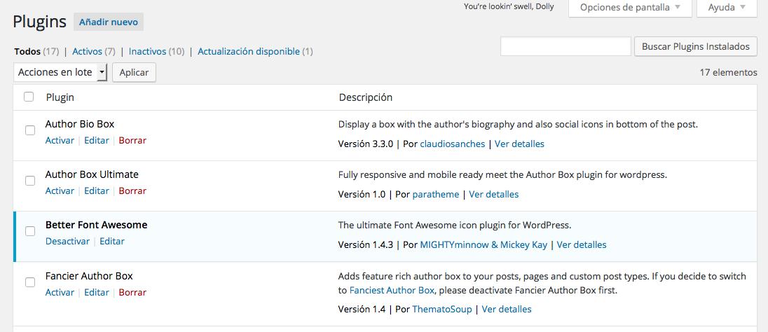 Comparar Plugins - Buscador de plugins