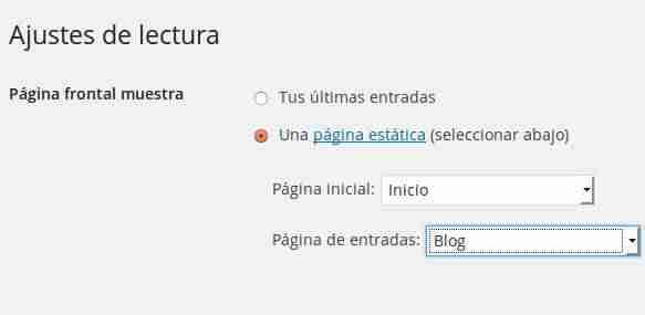 Cómo crear una página diferente para las publicaciones del blog en ...