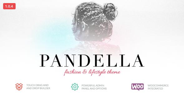 Plantillas de WordPress para un blog de moda - Pandella