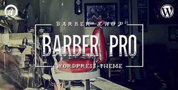 Plantillas de WordPress para una barbería