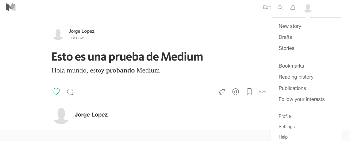 Medium a WordPress
