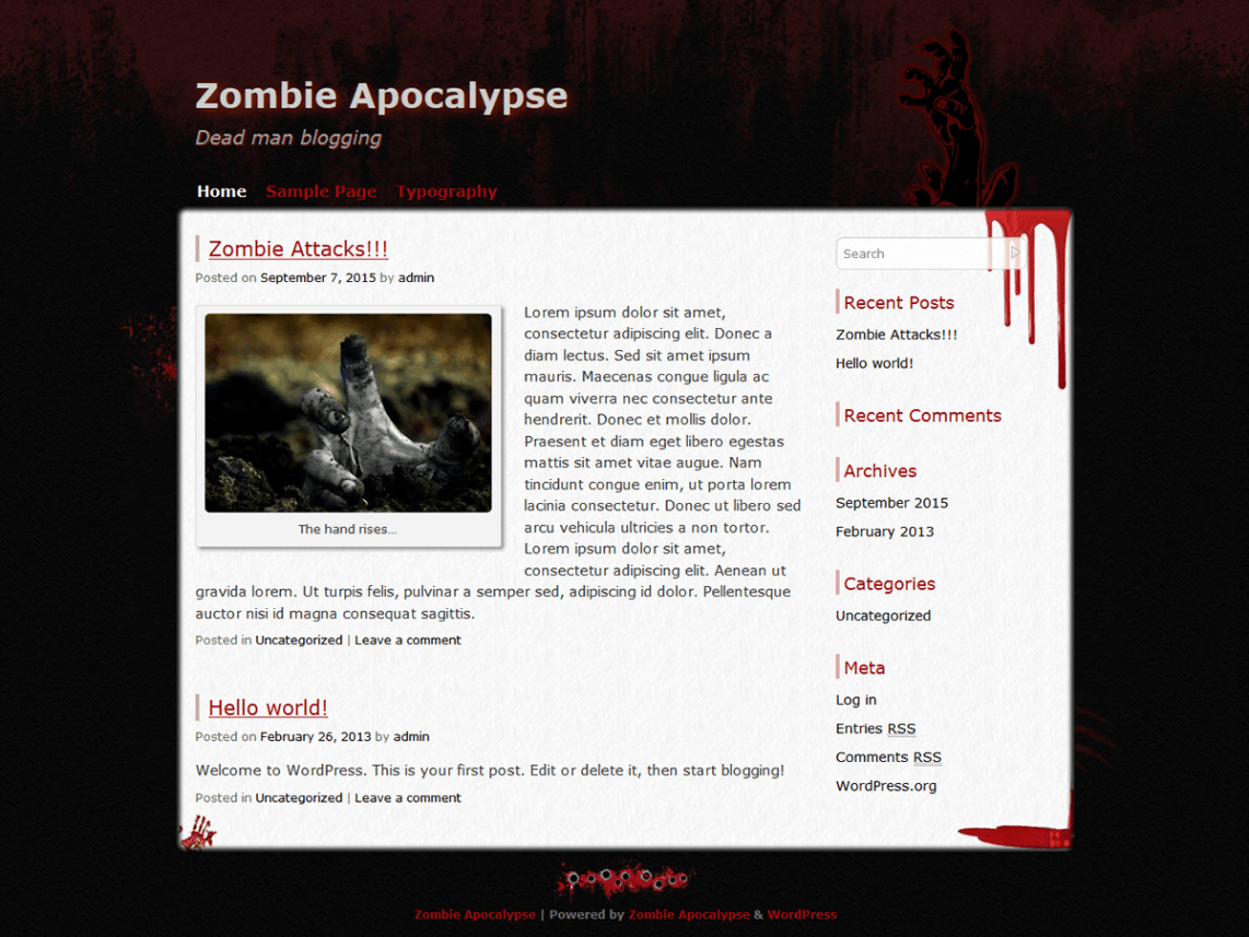 Plantillas de WordPress para Halloween