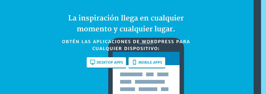 Aplicaciones para WordPress