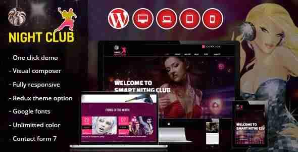 Plantillas de WordPress para una discoteca