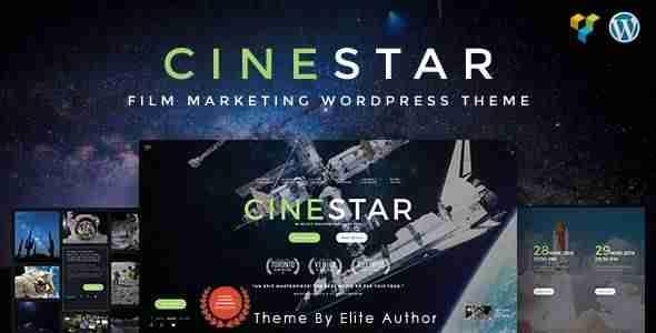 plantillas de WordPress para una película