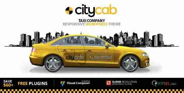 plantillas de WordPress para un servicio de taxis