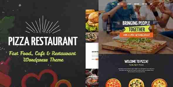 Plantillas de WordPress para una pizzería
