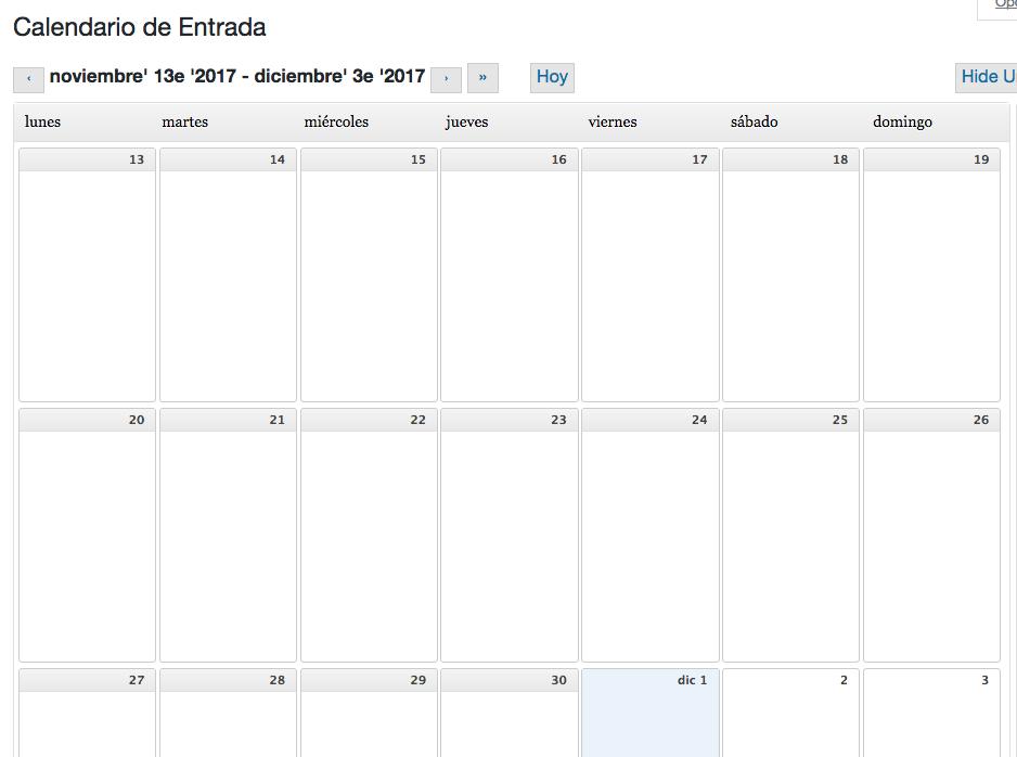Cómo ver el calendario editorial de tu WordPress