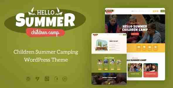 Plantillas para un campamento de verano
