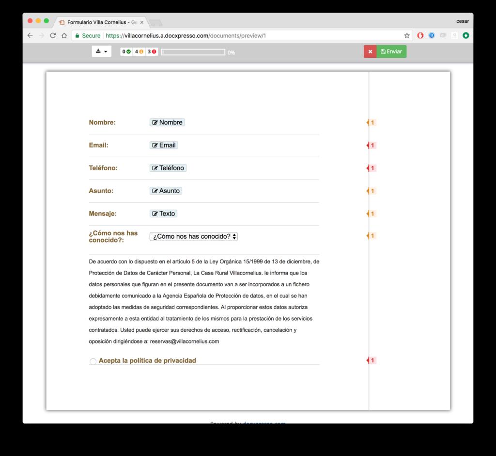 Formularios de contacto en Wordpress y #GDPR - WordPress Directo